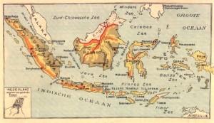 Kaart Nederlands-Indië