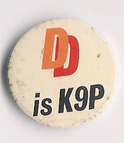 Button CAMRA 'DD is K9P'