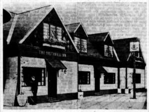 De Tijd 24-3-1965 - De 'Britannia Inn' op het Museumplein in Amsterdam.