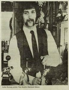 Het vrije volk 10-5-1973 - Barman Double Diamond, Rotterdam
