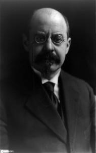 Emile Vandervelde in 1919 - Bron Wikipedia