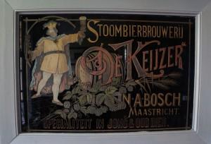 De Keyzer Maastricht - Reclameplaat