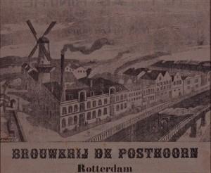 Brouwerij De Posthoorn - Stadsarchief Rotterdam