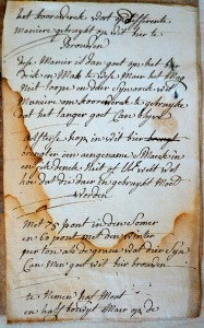 Recept Witbier uit Etten anno 1783 - Stadsarchief Rotterdam