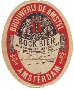 Amstel Bockbier - Source: bieretiketten.nl