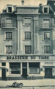 Brasserie du Tigre, Strasbourg - Source: delcampe.net