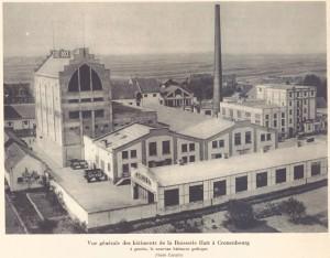 Brewery Hatt, Cronenbourg - La vie d'Alsace 1934