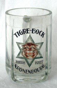 Beer mug Tigre Bock - From: Revue d'Alsace 2011
