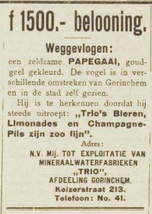 Nieuwe Gorinchemsche courant 7-8-1920