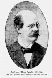 Aloys Schulte. Bron: Wikipedia
