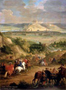 Belegering van Namen in 1692. Zolang er soldaten waren, werd er bier omgezet.