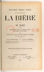 Dit boek van Cartuyvels en Stammer (1879) is een van de door De Baets verkeerd geciteerde werken. Bron: Bibliothèque Nationale, Parijs.