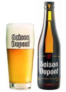 Saison Dupont, dat tegenwoordig wordt gezien als de standaard voor deze bierstijl.
