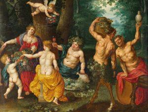 Jan Breughel de Jongere - Feest van Bacchus (detail) - Wikimedia Commons