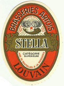 Stella Artois: geboren in juni 1926. Afbeelding: jacquestrifin.be
