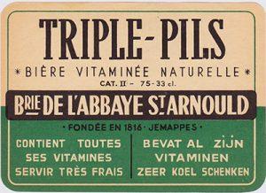 Triple-Pils: een van de merkwaardige Belgische varianten op pils. Afbeelding: jacquestrifin.be