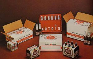 Zo zag Stella Artois eruit in de jaren 1970.