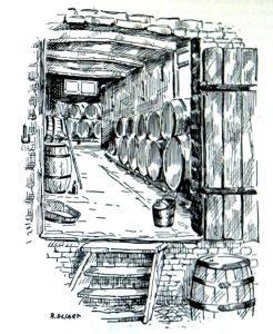'De kelders van de brouwerij van Auguste Lambic', Les mémoires de Jef Lambic p. 17.