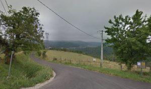 Het typische landschap van de Limousin in midden-Frankrijk, waar Georges Lacambre werd geboren.